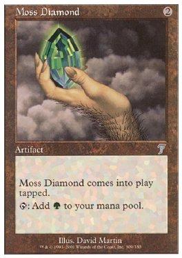 Diamante mohoso