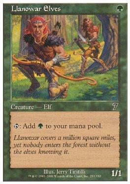 Elfos de Llanowar