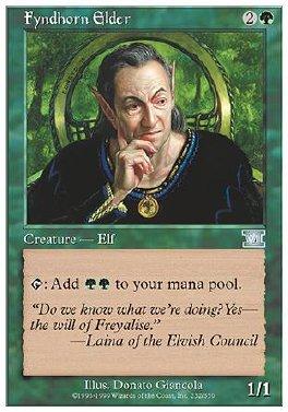 Anciano de Fyndhorn