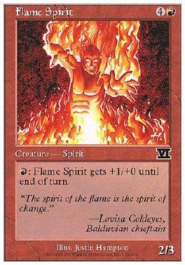 Espiritu de la llama