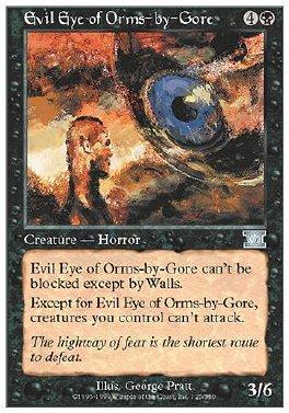 Ojo malefico de Orms-by-Gore