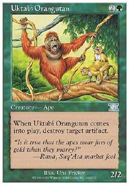 Orangutan de Uktabi