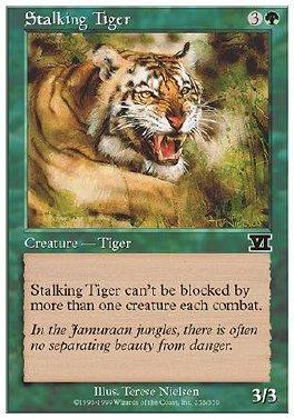 Tigre al acecho