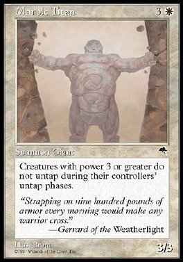 Titan de marmol