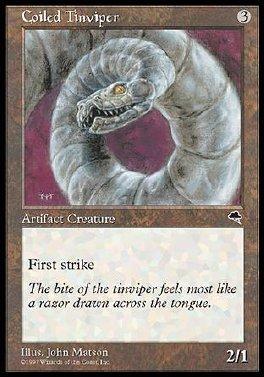 Coiled Tinviper