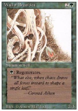 Muro de espinos