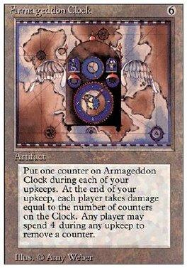 Reloj del Armagedon