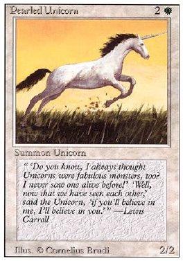 Unicornio perlado