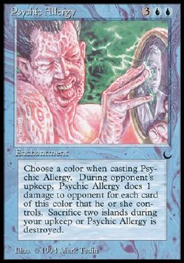 Psychic Allergy
