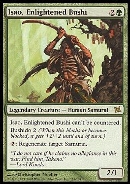 Isao, bushi inspirado