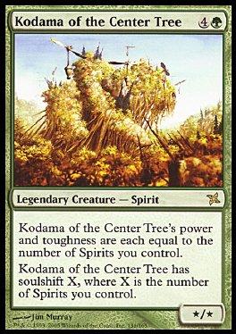 carta aleatoria de dia  Kodama-del-arbol-del-centro