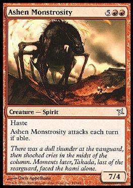Monstruosidad cenicienta