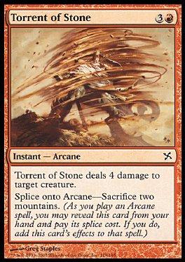 Torrente de piedra