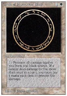 Circulo de proteccion: negro