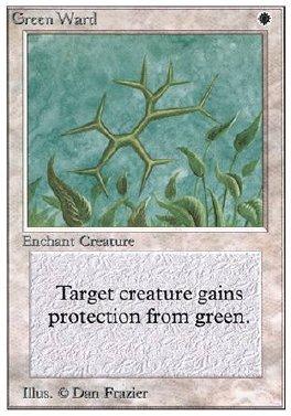 Guarda de verde